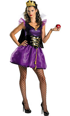 Adult Sassy Evil Queen Costume