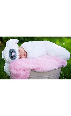 Baby Crochet Cocoon Lamb Costume