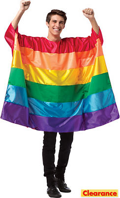 Adult Rainbow Flag Tunic
