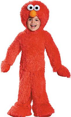 Toddler Boys Elmo Costume Deluxe - Sesame Street