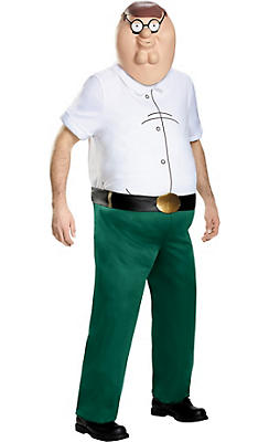 Adult Peter Griffin Costume Deluxe - Family Guy
