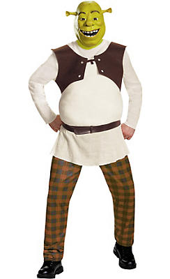 Adult Shrek Costume Deluxe - Shrek