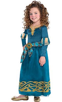 Girls Merida Costume Classic - Brave