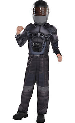 Little Boys Snake Eyes Muscle Costume - G.I. Joe
