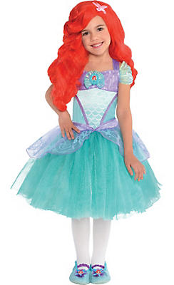 quick shop toddler girls ariel costume - Halloween Princess Costumes For Toddlers