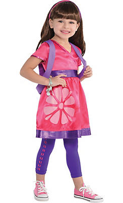 Toddler Girls Dora Costume - Dora and Friends