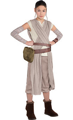 Girls Rey Costume - Star Wars 7 The Force Awakens