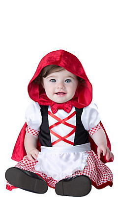 Baby Lovely Little Red Riding Hood Costume