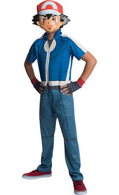 Boys Ash Costume - Pokemon
