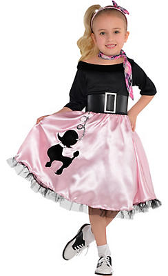 Toddler Girls Miss Sock Hop Costume