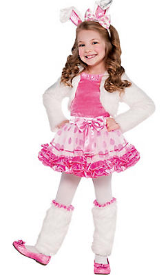 Toddler Girls Honey Bunny Costume