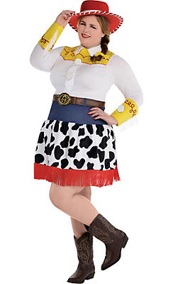 Adult Jessie Costume Plus Size Deluxe - Toy Story