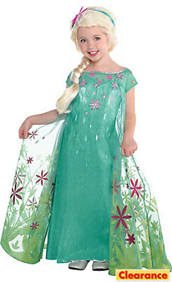 Toddler Girls Elsa Costume Supreme - Frozen Fever