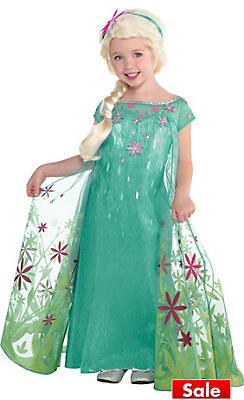 Toddler Girls Elsa Costume Supreme - Frozen Fever