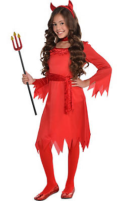 Toddler Girls Lil Devil Costume