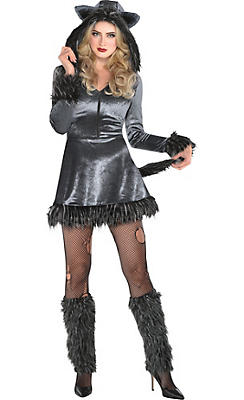 Adult Howling Hottie Wolf Costume