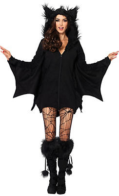 Adult Cozy Bat Costume