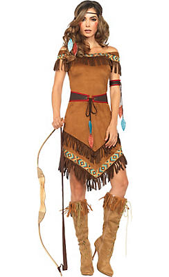 Adult Native American Princess Costume