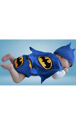 Baby Diaper Cover Batman Costume - Classic Batman