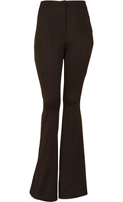 Black 70s Disco Pants