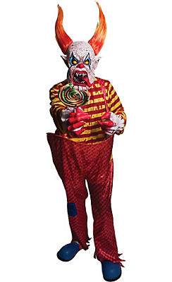 Adult Horns the Scary Clown Costume