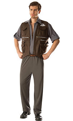 Adult Owen Costume Deluxe - Jurassic World