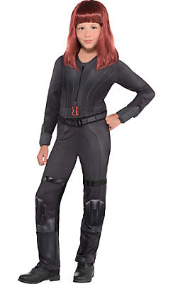 Girls Black Widow Costume - Captain America: Civil War