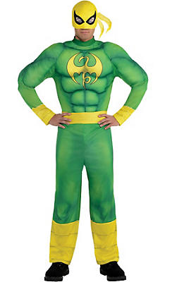 Adult Iron Fist Muscle Costume