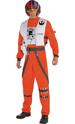Adult Poe Dameron Costume - Star Wars 7 The Force Awakens