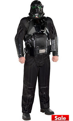 Adult Death Trooper Costume Plus Size - Star Wars Rogue One