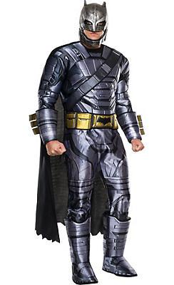 Adult Batman Muscle Costume - Batman v Superman: Dawn of Justice