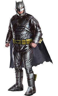 Adult Batman Muscle Costume Plus Size - Batman v Superman: Dawn of Justice