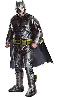 Adult Batman Muscle Costume Plus Size - Batman v Superman: Dawn of Justice