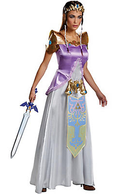 Adult Zelda Costume - Nintendo The Legend of Zelda