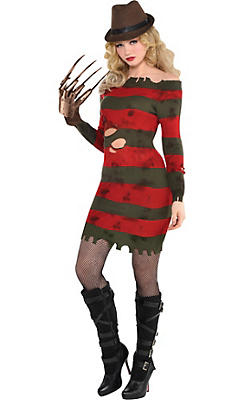 Adult Miss Krueger Costume - A Nightmare on Elm Street