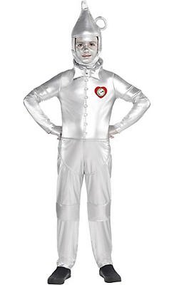 Boys Tin Man Costume - The Wizard of Oz