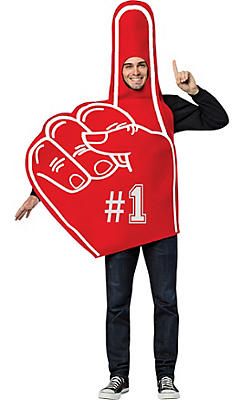 Adult Foam Finger Costume