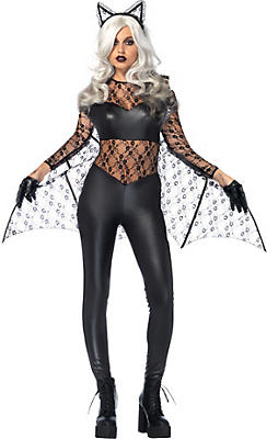 Adult Black Magic Bat Costume