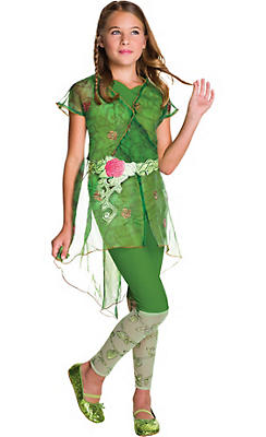 Girls Poison Ivy Costume - DC Super Hero Girls