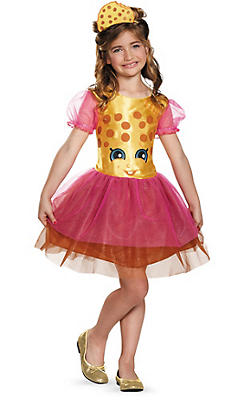 Girls Kooky Cookie Costume - Shopkins