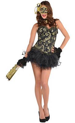 Adult Venetian Masquerade Costume Deluxe
