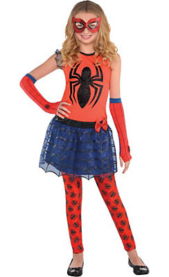 Girls Spider-Girl Costume