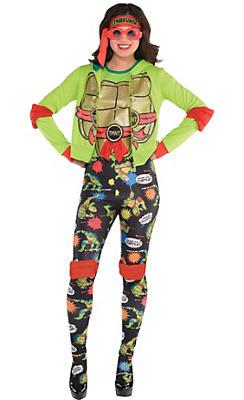 Adult Raphael Costume Deluxe - Teenage Mutant Ninja Turtles