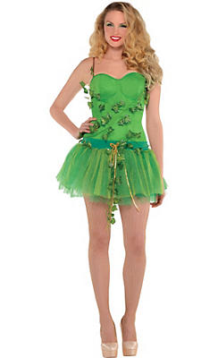 Adult Poison Ivy Costume - Batman