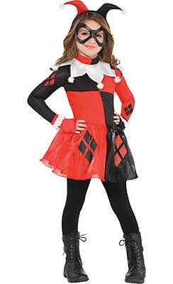 harley quinn costumes harley quinn halloween costumes. Black Bedroom Furniture Sets. Home Design Ideas