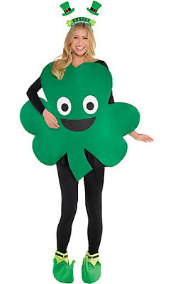 Adult Funny Shamrock St. Patrick's Day Costume