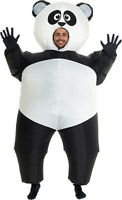 quick shop adult inflatable panda costume - Halloween Stores Portland Or