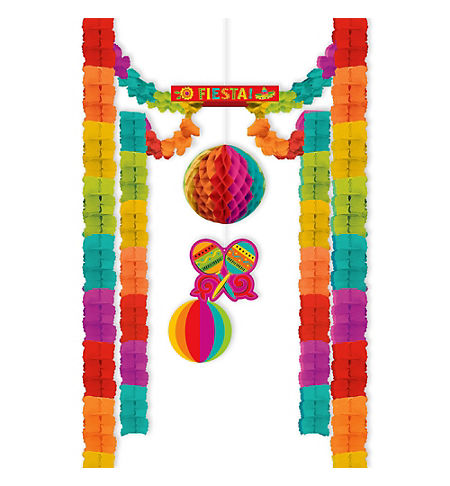 caliente fiesta all in one room decoration - Fiesta Decorations