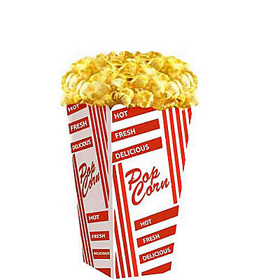 Popcorn Life Size Cardboard Cutout