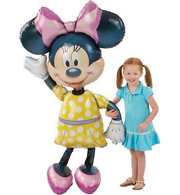 Minnie Mouse Balloon - Gliding